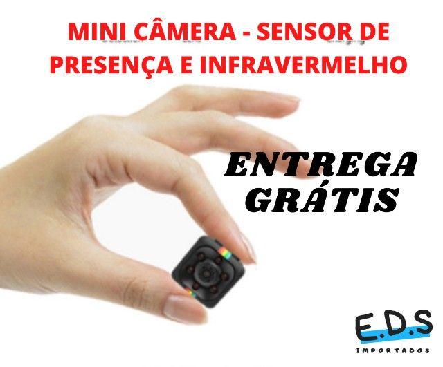 Mini Câmera SQ11 Filmadora Espiã Com Infravermelho - Foto 4