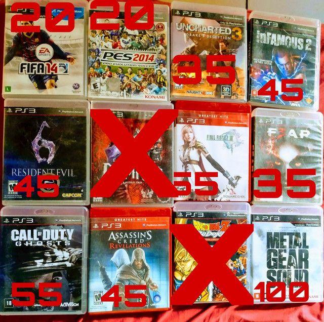 Jogos PS3 mídia física. - Foto 2