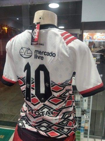 Camisas Exclusivas Flamengo Infantil Feminina - Foto 5