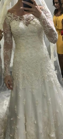 Vestido de noiva Carol Hungria  - Foto 6