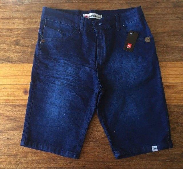 Bermudas jeans masculinas  - Foto 3