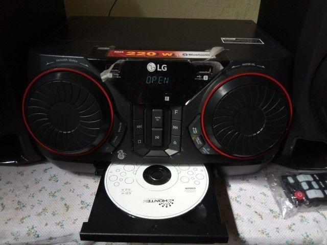 Som LG  mini system semi-novo