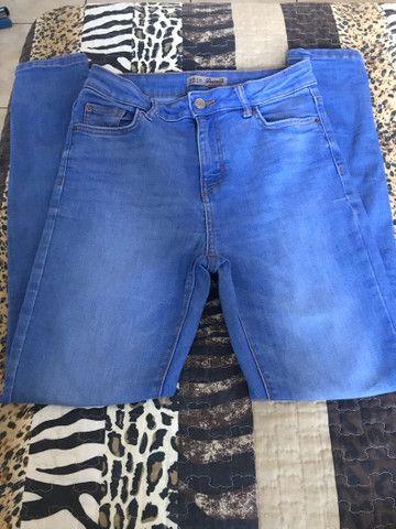 Calça jeans nova, entrego