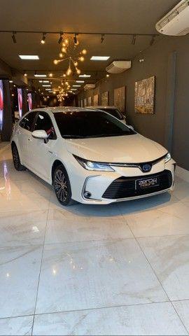 Toyota Corolla Altis 1.8 Hybrid 2020,Configuração Linda,Impecável  - Foto 4