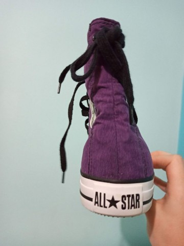 All star roxo novo - Foto 5
