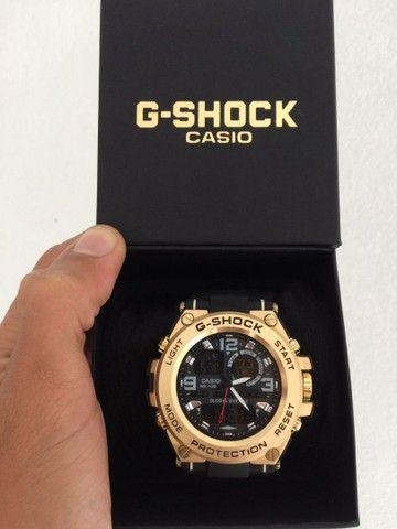 Relógio G-Shock Caixa de aço A prova d'água.  - Foto 5