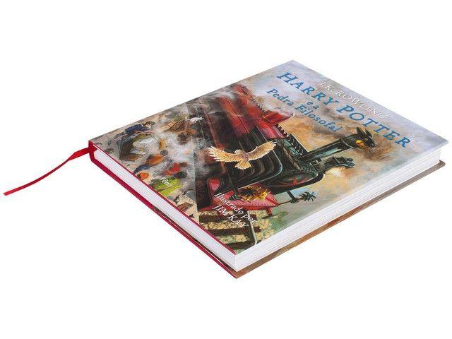 Harry Potter livro ilustrado  - Foto 3