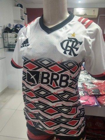 Camisas Exclusivas Flamengo Infantil Feminina - Foto 2