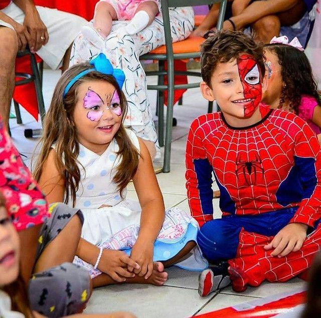 Pintura Facial - evento infantil