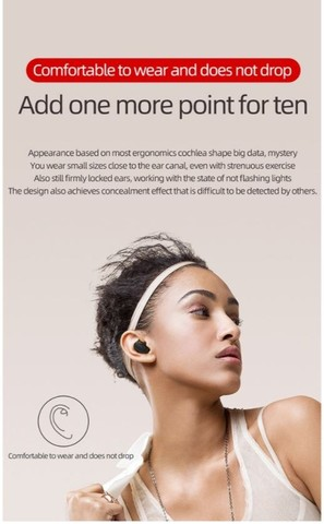 Fone de ouvido A6S - Foto 4