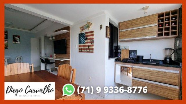 Bosque Patamares - Apartamento impecável 2 quartos, sendo uma suíte em 65m²  - (R2) - Foto 5