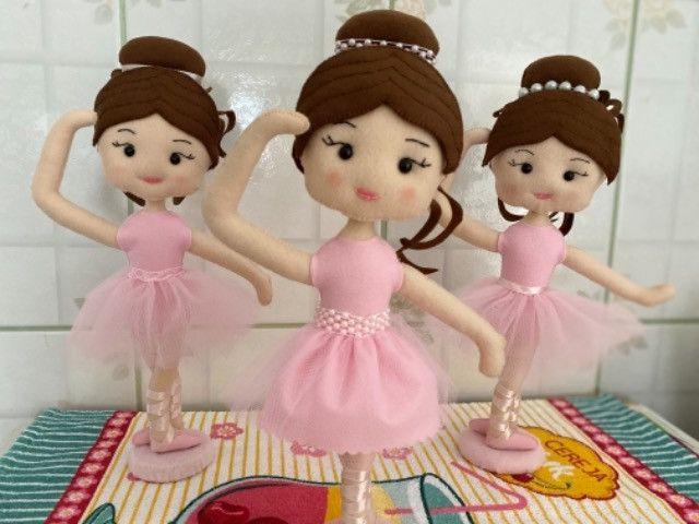 Bailarina em Feltro - Foto 4