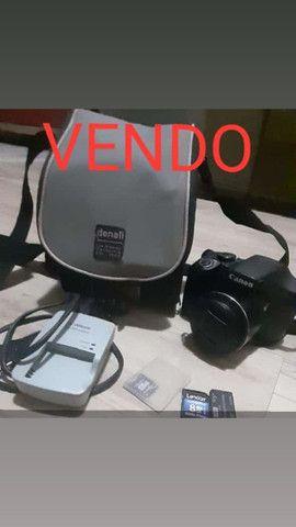Câmera Semi-profissional power shot sx520 hs