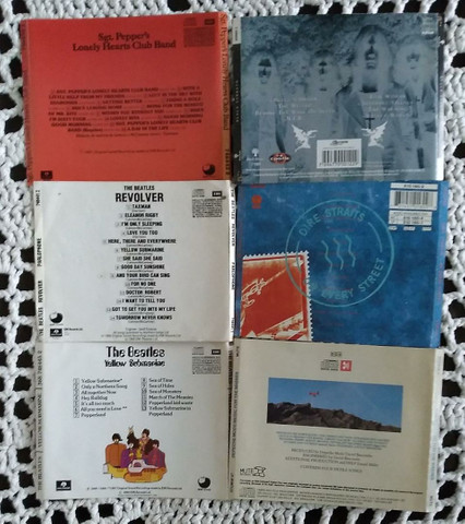 6 Encartes de CD's de rock - Foto 3