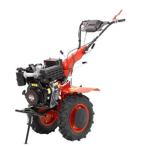 Micro Trator Motocultivador 10hp 406cc Diesel Partida Elétrica com Enxada Rotativa  - Foto 2