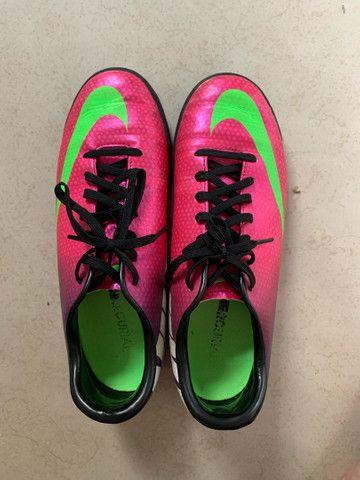Chuteira Nike Feminina Rosa Original  - Foto 2