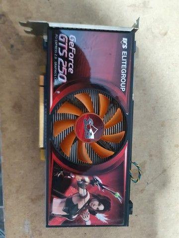 Placa de vídeo Gforce GT250 1g