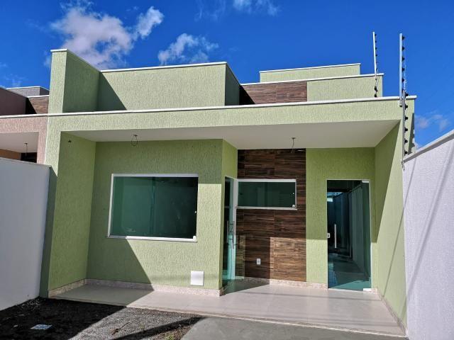 Venha morar no bairro Vetor de crescimento SIM Casa de 3/4csuite