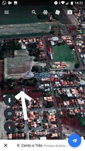 Terreno à venda, 1820 m² por R$ 180.000,00 - Centro - Primeiro de Maio/PR - Foto 3