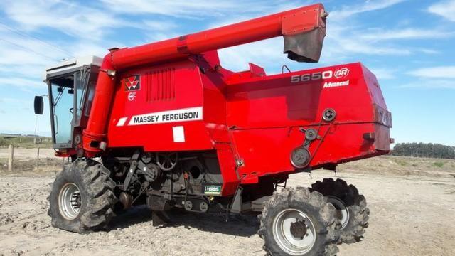 Colheitadeira Massey Ferguson 5650 Advanced - Foto 2