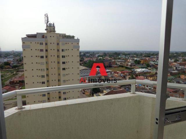 Apartamento com 3 dormitórios para alugar, 82 m² por r$ 1.850,00/mês - 7º bec - rio branco - Foto 17