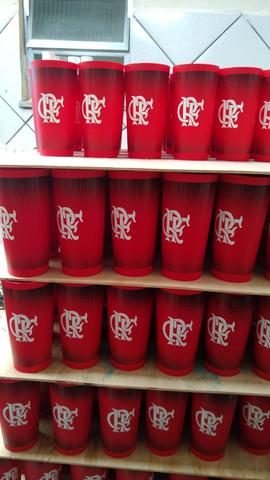 Flamengo copos - Foto 2