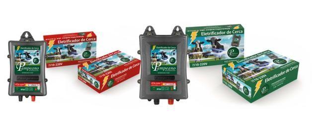 Eletrificador Cerca Elétrica Rural 60km12v Pampeano a bateria - Foto 4