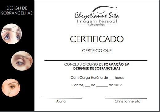 Curso Dsine de Sobrancelhas Online com Certificado - Foto 2