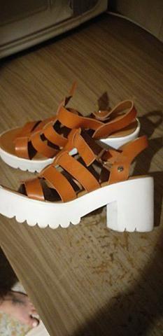 1ef48694ad Sandália Goofy Lury Marrom - Roupas e calçados - Jardim Mangalot ...