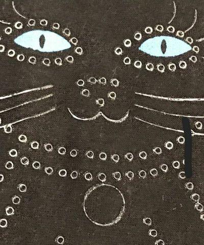 Camiseta De Malha Feminina com estampa de gata - Foto 4