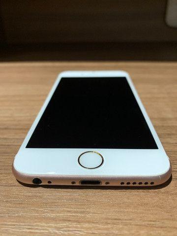 Iphone 6S Rose Gold 64GB única dona, sem nenhum arranhão - Foto 2