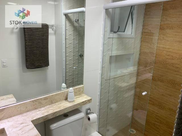 Apartamento com 3 dormitórios à venda, 83 m² por R$ 605.000 - Jardim Flor da Montanha - Gu - Foto 8