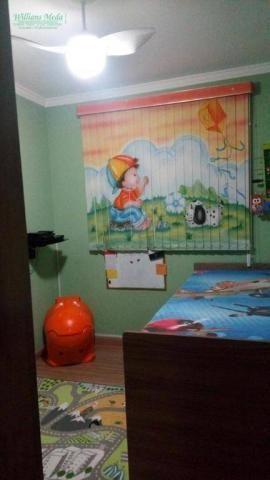 Apartamento com 2 dormitórios à venda, 50 m² por R$ 250.000 - Parque Maria Helena - Guarul - Foto 3