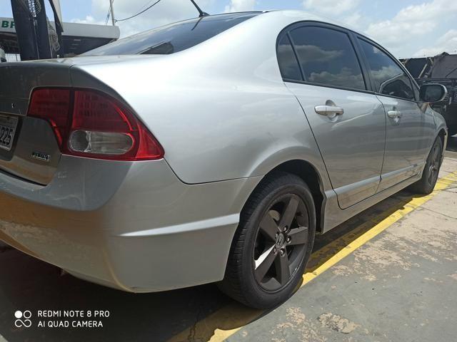 Honda Civic automático 2008 aceita financiamento - Foto 2