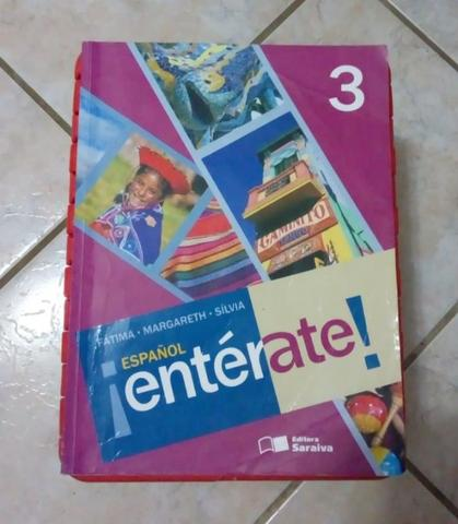 Livro - Espanhol Entérate! 3