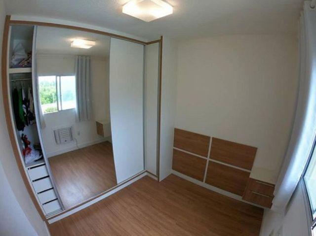 WC - >> Apartamento 2 Quartos Cond. Vista de Manguinhos - R$ 125.000,00 - Foto 9