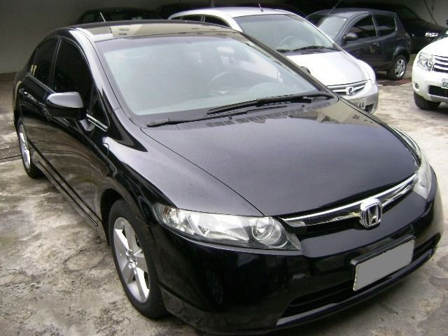 Honda Civic LXS 1.8 16V (Aut) (Flex) 2007/2008 - Foto 2