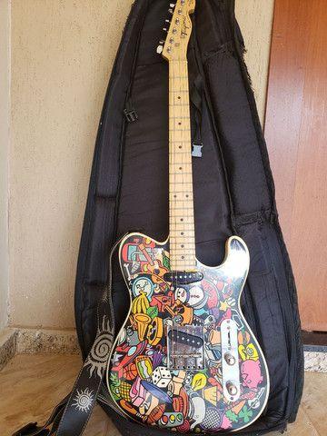 Guitarra Telecaster Tagima versão especial Marcinho Eiras - Foto 4