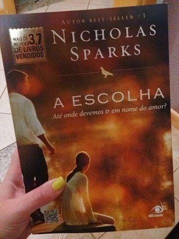 Box com 3 livros Nicholas Sparks - Foto 2