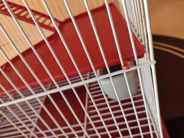 Gaiola para hamster dois andares  - Foto 5
