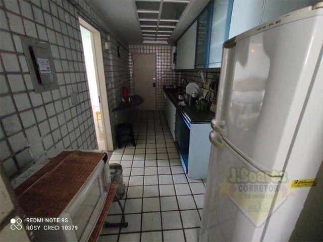 Manaíra, Mobiliado, 4 quartos, 120m², R$ 3.200, Aluguel, Apartamento, João Pessoa - Foto 15