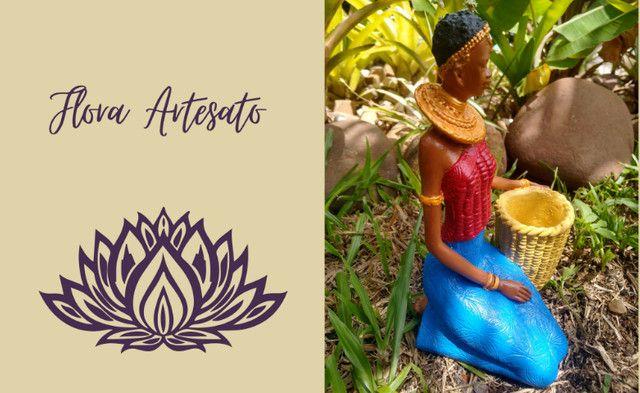 Boneca Africana - Negra - Foto 2