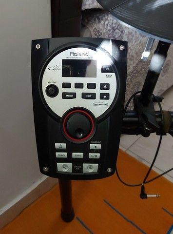 Bateria Eletrônica Roland TD-11 - Foto 4