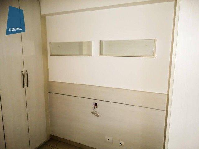 Apartamento com 3 dormitórios à venda, 60 m² por R$ 440.000,00 - Fátima - Fortaleza/CE - Foto 15