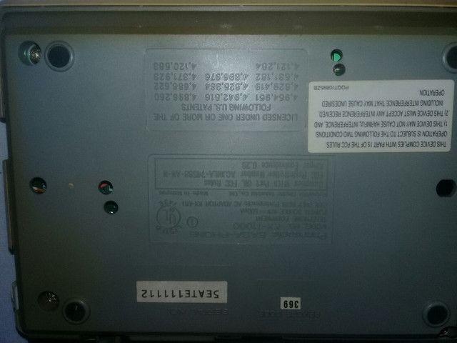 Secretaria eletrônica Panasonic  - Foto 4