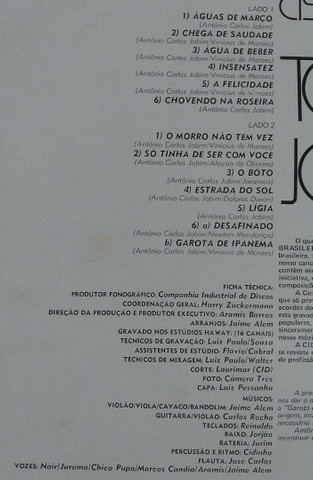 Lp Talendo Brasileiro 4 Tom Jobim disco vinil - Foto 5