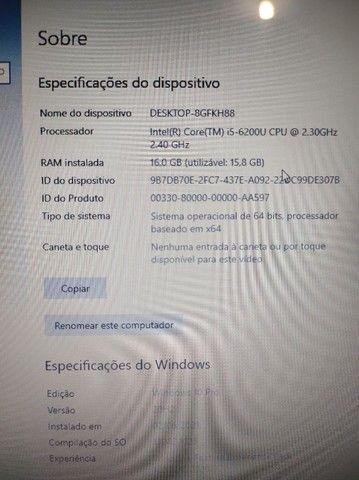 Notebook Acer i5 ddr3 16gb ram ssd 512gb - Foto 4