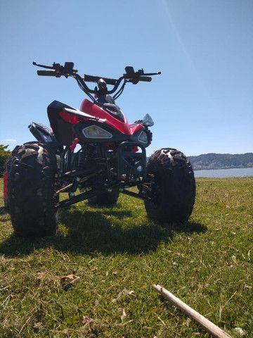 Quadriciclo Elétrico 1000w - Vermelho / Novo - Foto 4