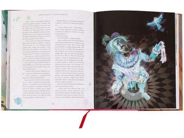 Harry Potter livro ilustrado  - Foto 2