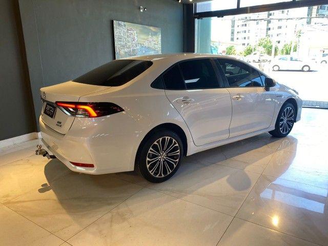 Toyota Corolla Altis 1.8 Hybrid 2020,Configuração Linda,Impecável  - Foto 18